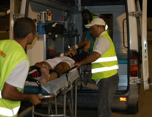 Osvaldir, lateral do Campinense (Foto: Silas Batista / GloboEsporte.com)