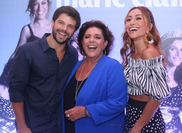 Duda Nagle, Leda Nagle e Sabrina Sato (Foto: Wallace Barbosa e Daniel Pinheiro/AgNews)