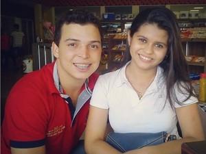 Rui Blann está internado em estado grave e Priscila Araújo morreu a caminho do hospital (Foto: Reprodução/Facebook)