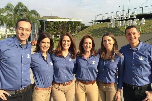 Equipe do RJTV (Foto: Divulgação)