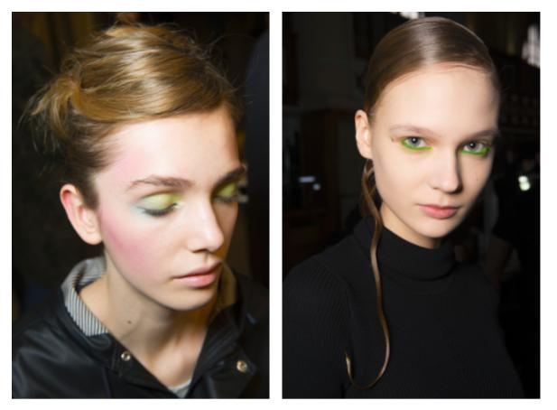 Backstage de beleza das marcas Armani Privé e Iris Van Harper (Foto: Imaxtreee)