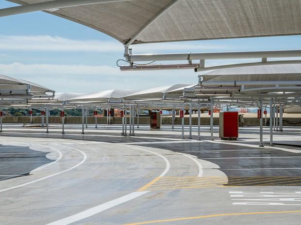 Novas vagas no estacionamento do Galeão: descontos para longa duração (Foto: Divulgação RIOgaleão )