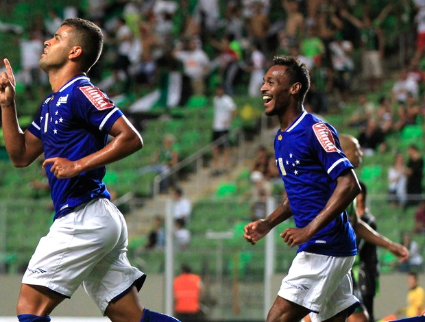 América-MG x Cruzeiro - Alisson comemora gol