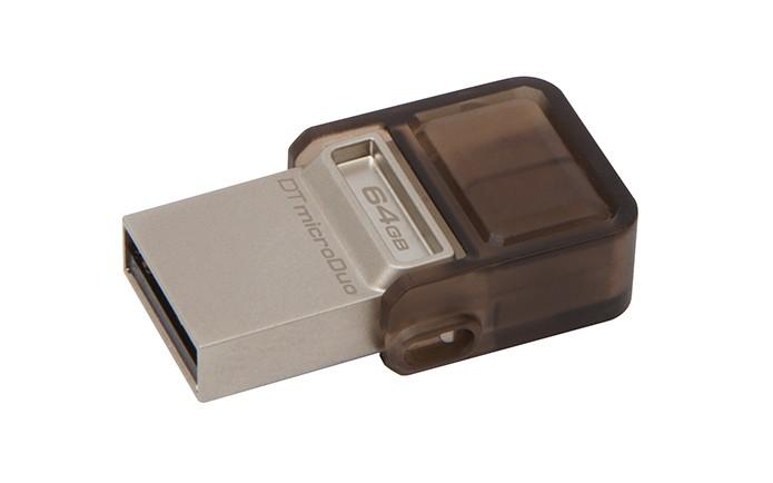 DataTraveler microDuo é pendrive para smartphones da Kingston (Foto: Divulgação/Kingston) (Foto: DataTraveler microDuo é pendrive para smartphones da Kingston (Foto: Divulgação/Kingston))