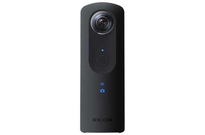Câmera 360 Ricoh Theta S (Foto: Divulgação/Ricoh)