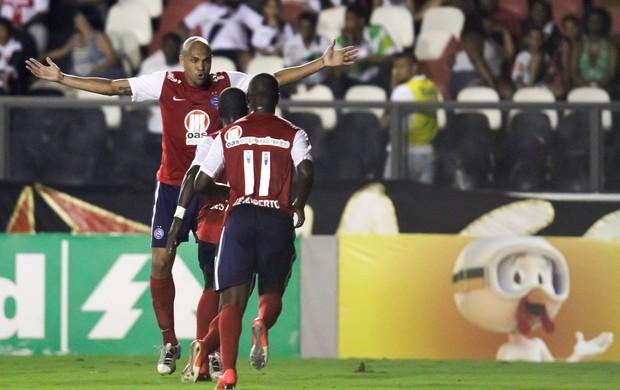 Souza gol Bahia (Foto: Ide Gomes / Ag. Estado)
