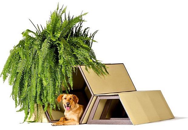 Taller 13 - Este modelo é multiuso. Serve como casinha de cachorro, sofá para humanos e, ainda, vaso para plantas (Foto: Divulgação Archdaily)
