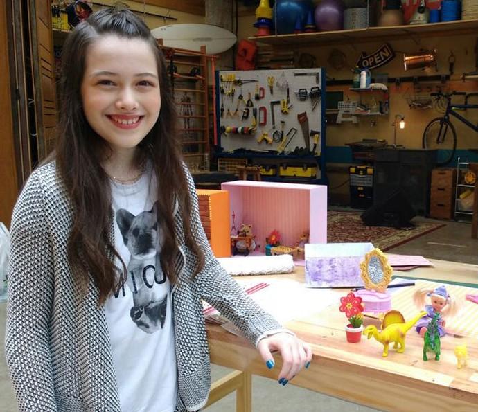 Julia Silva ensina a fazer nichos criativos (Foto: Raquel Gonzalez/Gshow)