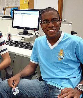 Eric Luis Carvalho, reporter do globoesporte.com (Foto: Arquivo Pessoal)