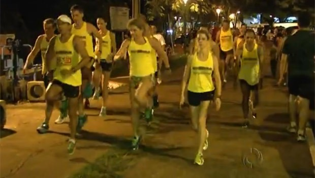 Corrida rústica atrai atletas de projeção e amadores (Foto: Reprodução)