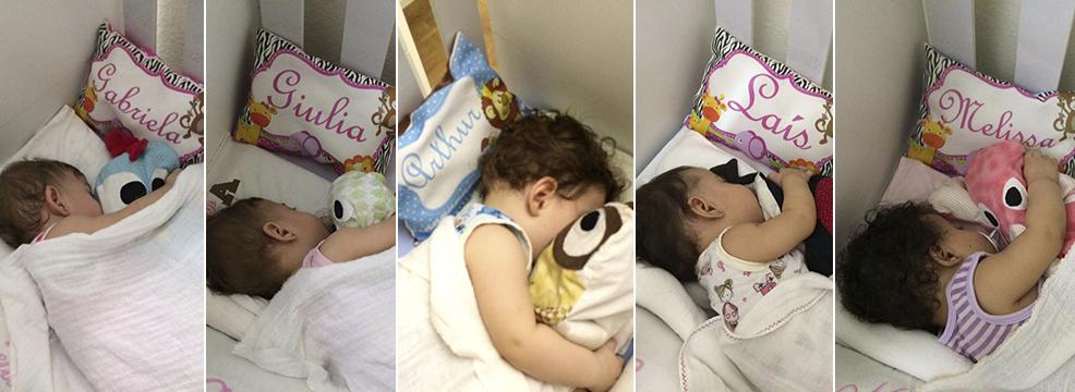 Hora do sono das crianças é o momento de organizar a casa (Foto: Solange Freitas)