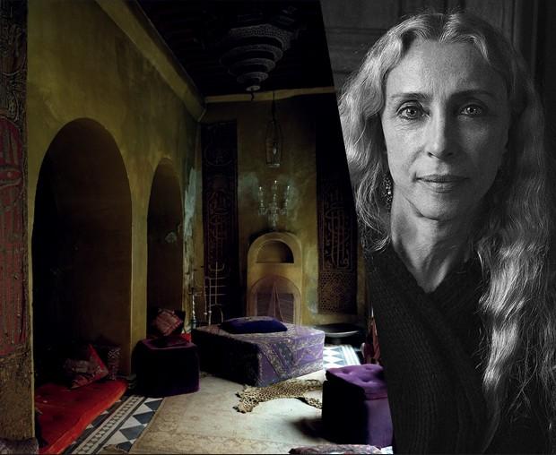 A casa no Marrocos de Franca Sozzani (Foto: Ivan Tereschenko e reprodução)