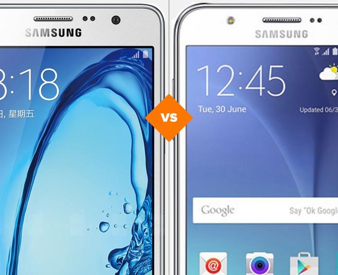 Galaxy On7 ou Galaxy J7? Descubra qual smartphone da Samsung é o ideal para você (Foto: Arte/TechTudo)