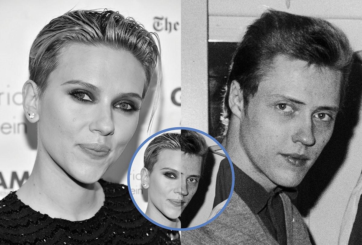 Scarlett Johansson e Christopher Walker (Foto: Getty Images)
