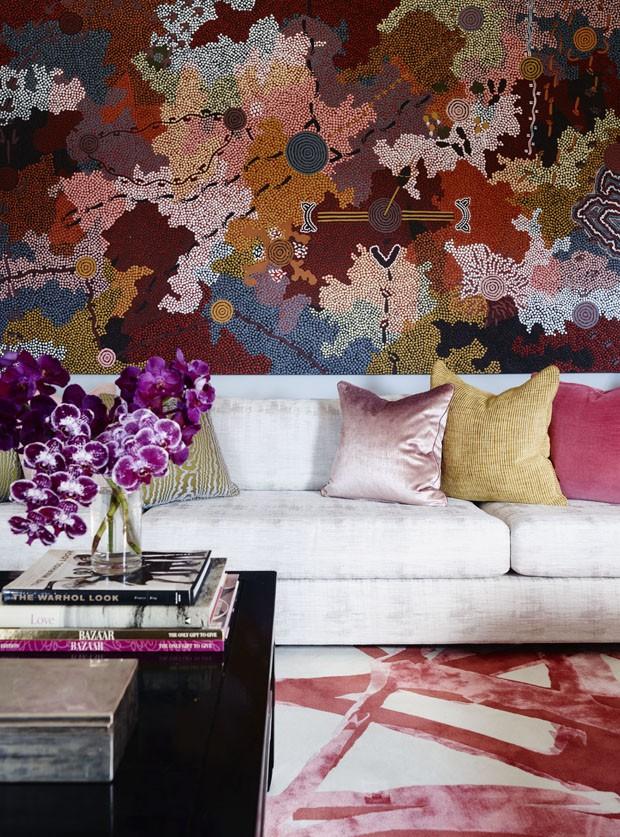 Splashes de cor dão emoção a apartamento (Foto: PD/Divulgação)