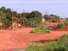 Buracos e árvores tomam conta de ruas sem asfalto em bairro de Palmas
