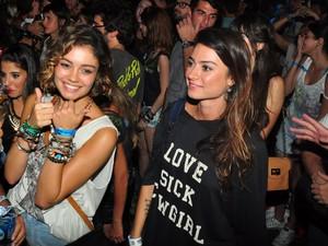 Shopie Charlotte e Thaila Ayala (Foto: Roberto Teixeira/EGO)