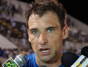 Wilson Júnior, goleiro do ABC (Foto: Augusto Gomes)