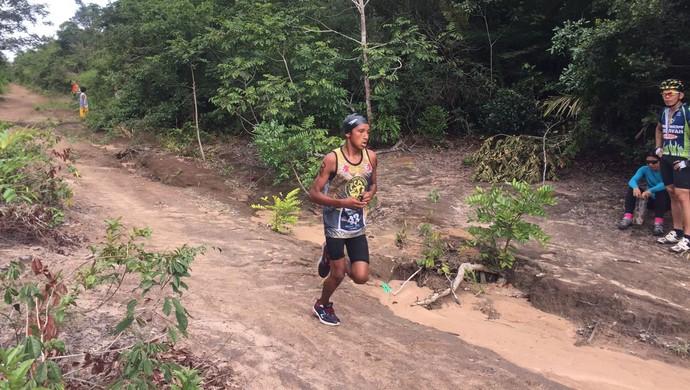 Pedro foi o primeiro colocado da categoria juvenil masculino (Foto: Dominique Cavaleiro/GloboEsporte.com)