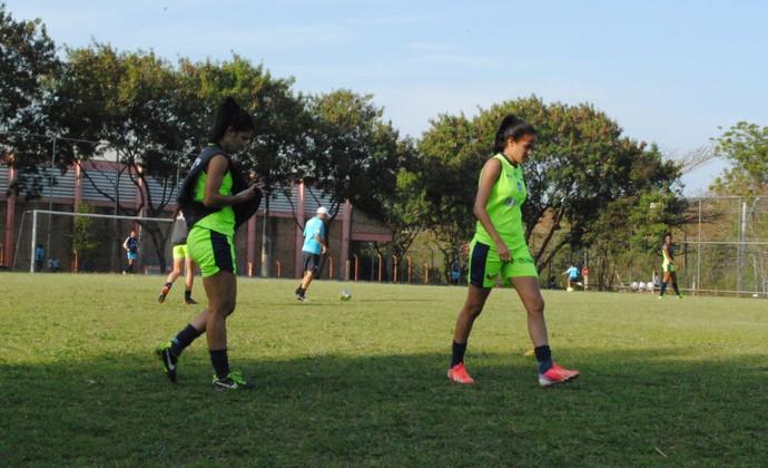 Treino São José Futebol Feminino (Foto: Thiago Fadini/GloboEsporte.com)