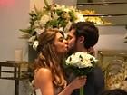 Jayme Matarazzo e Luiza Tellechea se casam em capela do Cristo Redentor
