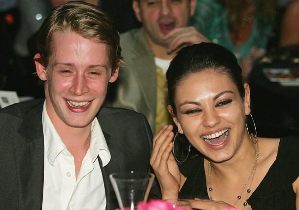 Mila Kunis e Macaulay Culkin  (Foto: Getty Images)