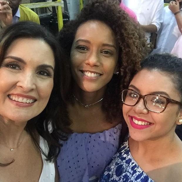 Fátima Bernardes e Taís Araújo (Foto: Reprodução/Instagram)