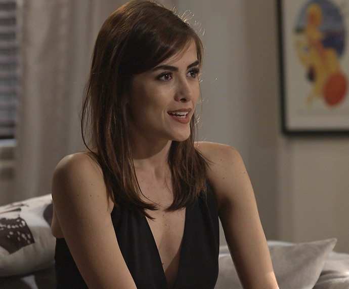Margot diz que pensa em se mudar para NY (Foto: TV Globo)