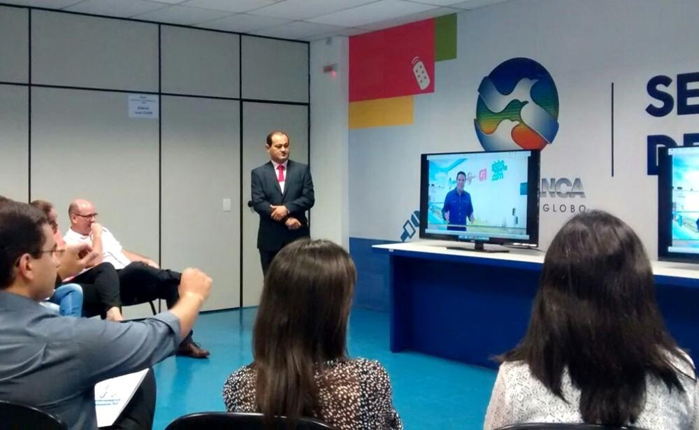 """TV Asa Branca realiza evento """"Dia da Programação"""" em Caruaru (Foto: Reprodução/ TV Asa Branca)"""