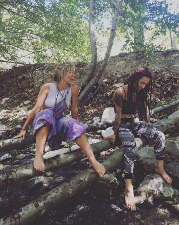 Acampamento de Paris Jackson, filha de Michael Jackson (Foto: Reprodução/Instagram)