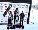 Isabel Clark conquista prata em Copa Sul-Americana de snowboard cross