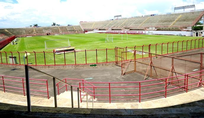 Estádio Vail Chaves, em Mogi Mirim (Foto: Marcelo Gotti / Mogi Mirim EC)