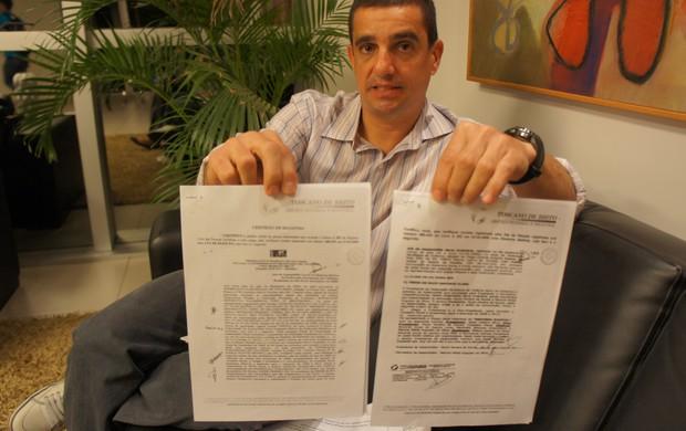 Almério Marra denuncia irregularidades no ciclismo da paraíba (Foto: Phelipe Caldas / globoesporte.com/pb)