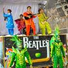 'Pega' celebra os Beatles (Weliton Aiolfi/ G1)