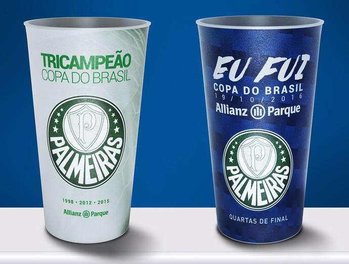 ec780479d3 Arena do Palmeiras lança copos personalizados para a Copa do Brasil