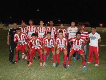 Equipe do Caiçara em amistoso contra Seleção de Altos (Foto: Ascom)