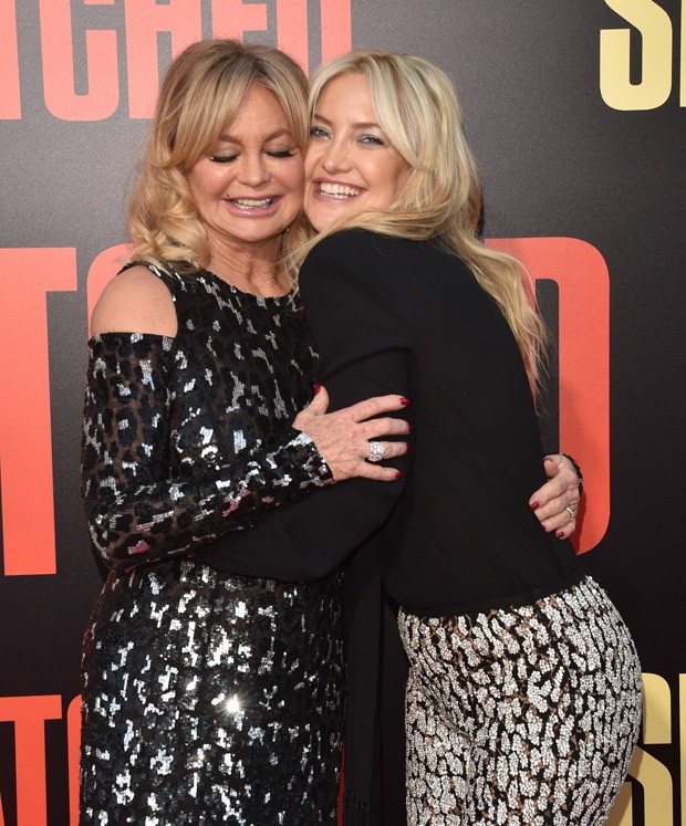 Kate Hudson com a mae, Goldie Hawn (Foto: Getty Images)