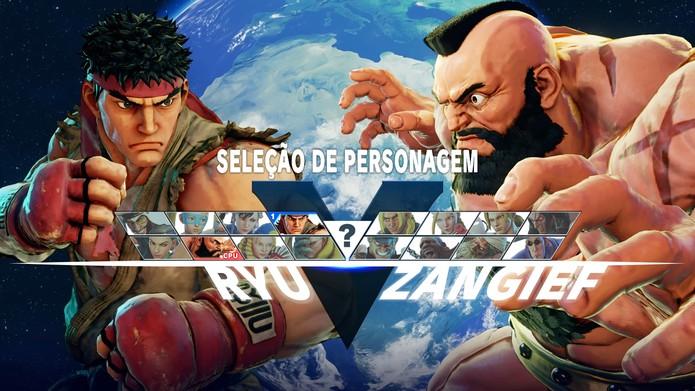 Os 16 personagens iniciais de Street Fighter 5 são bastante diversificados (Foto: Reprodução/Caio Fagundes)