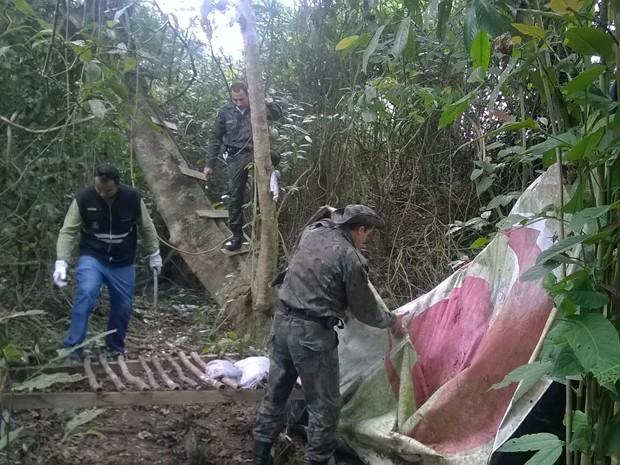 Acampamento clandestino de caça é desmontado em Porto Real (Foto: Divulgação/Ascom Porto Real)