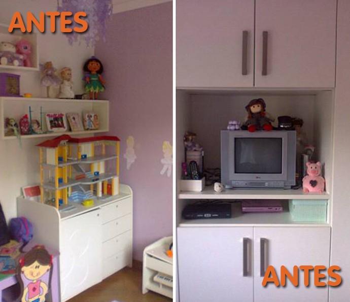 Antes: quarto de criança tem brinquedo por todo lado. Como organizar? (Foto: Divulgação)