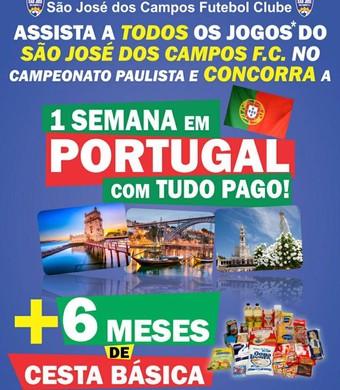 São José dos Campos FC promoção (Foto: Reprodução/Facebook)