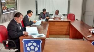Tribunal de Justiça Desportiva de Mato Grosso TJD-MT (Foto: Robson Boamorte)