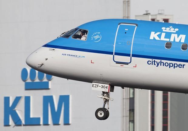 Avião da companhia aérea holandesa KLM (Foto: Wikimedia Commons/Wikipedia)