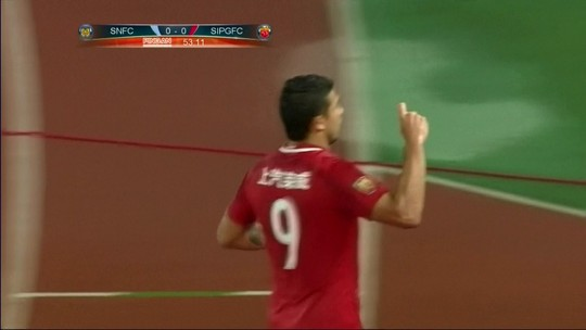 Fernandinho brilha, Kardec marca e Chongqing Lifan vence o Guangzhou R&F