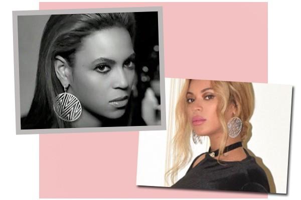 Brinco usado por Beyoncé levanta suspeitas de que gêmeos são meninos (Foto: Reprodução / Instagram)