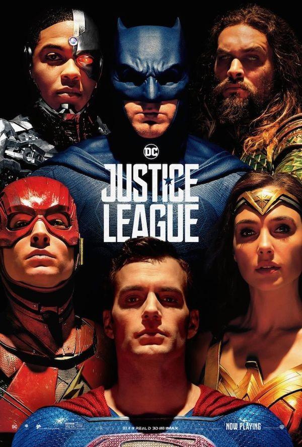 O pôster da Liga da Justiça com a presença do Superman (Foto: Reprodução)