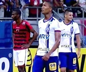 Bahia x Oeste, Série B (Foto: Reprodução / Premiere)