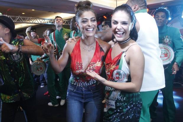 Juliana Paes e Paloma (Foto: Rodrigo dos Anjos / Daniel Pinheiro / AgNews)