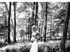 Candice Swanepoel exibe barriga de grávida: 'Manhãs mágicas'