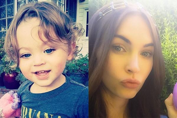 Megan Fox e seu filho, Bodhi (Foto: Instagram)
